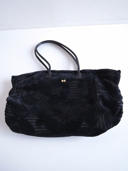 ミナペルホネン mina perhonen leaf chicory bag チコリーバッグ【中古】【10E81】【高価買取中】【店頭受取対応商品】