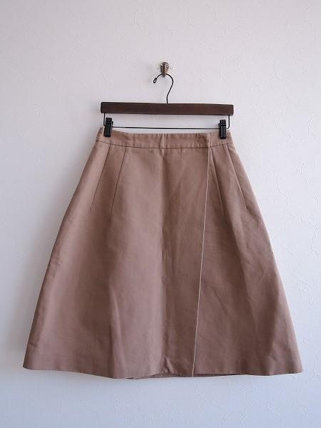 ソフィードール SOFIE D'HOORE コットンラップスカート 36【中古】【60E81】【高価買取中】【店頭受取対応商品】