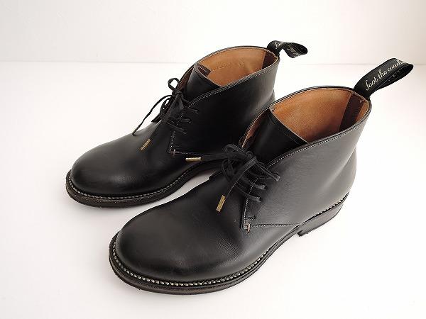 フットザコーチャー foot the coacher ジョージブーツ 4 1/2【中古】【71D81】【高価買取中】【店頭受取対応商品】