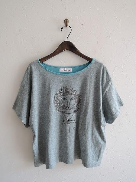 ミナペルホネン mina perhonen madame liona コットンTシャツ 36【中古】【12D81】【高価買取中】【店頭受取対応商品】