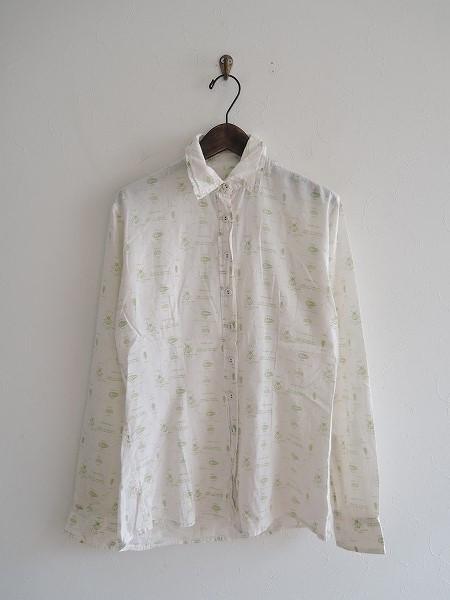 ポールハーデン Paul Harnden 昆虫プリントシャツ S【中古】【42E81】【高価買取中】【店頭受取対応商品】