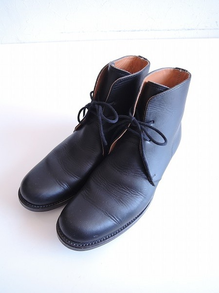 アーツ&サイエンス ARTS&SCIENCE chukka boots レースアップショートブーツ 22 1/2【中古】【40F81】【高価買取中】【店頭受取対応商品】