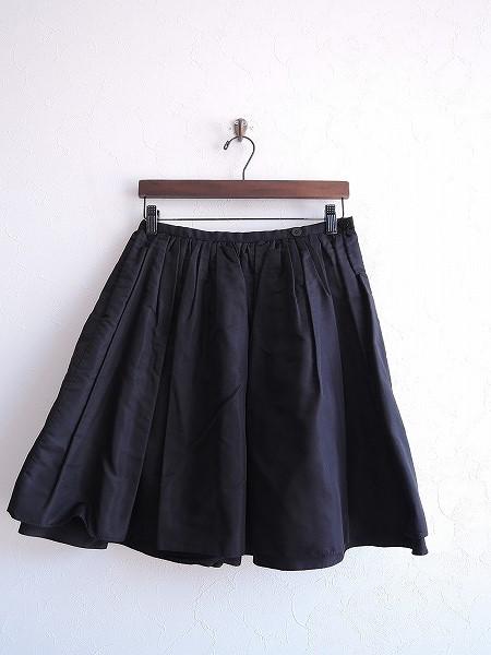 プティローブノアー petite robe noire シルクスカート -【中古】【52E81】【高価買取中】【店頭受取対応商品】