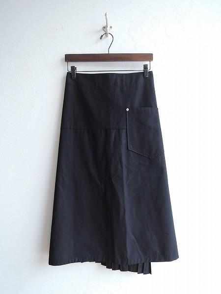 ズッカ ZUCCA 重ね着風デザインスカート S【中古】【61F81】【高価買取中】【店頭受取対応商品】