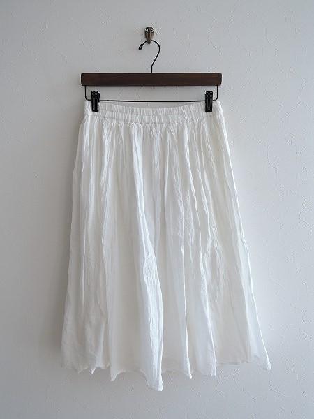 ミディウミ MidiUmi コットンリネンギャザースカート f【中古】【02F81】【高価買取中】