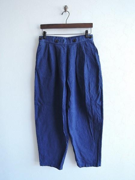 ランフランセダンタン Lin francais d'antan Dermit Canapa Pants デルミット カナパパンツ 1【中古】【52F81】【高価買取中】【店頭受取対応商品】