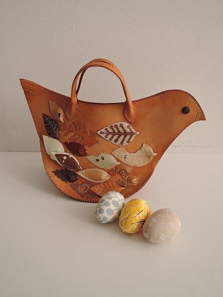ミナペルホネン mina perhonen tori bagとりバッグ【中古】【30K81】【高価買取中】【店頭受取対応商品】