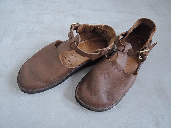 オーロラシューズ AURORA SHOES West Indian Tストラップ靴 6C【中古】【81K81】【高価買取中】【店頭受取対応商品】