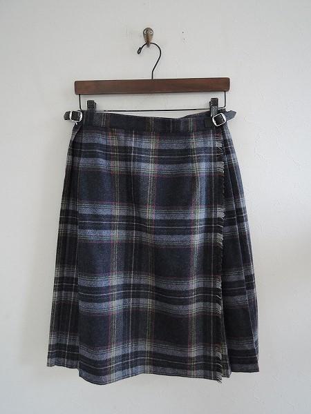 オニールオブダブリン O'NEIL OF DUBLIN ウール混キルトスカート 40【中古】【高価買取中】