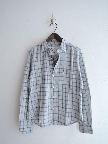 フランク&アイリーン Frank & Eileen BARRYコットンチェックシャツ X-SMALL【中古】【60A91】【高価買取中】【店頭受取対応商品】