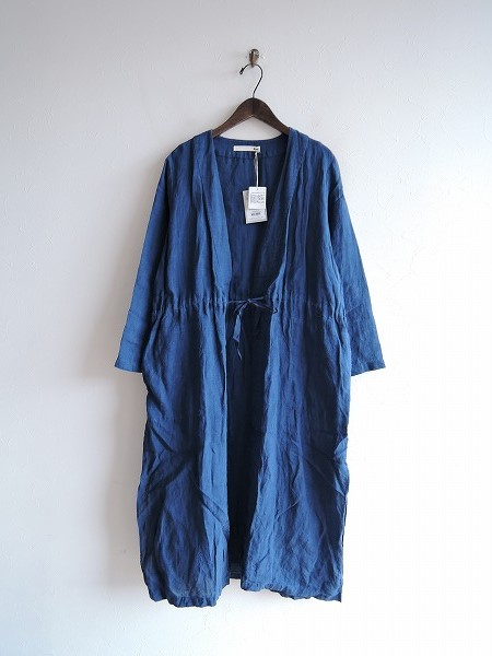 2018/ エヴァムエヴァ evam eva linen robe リネンローブ M【中古】【62B91】【高価買取中】【店頭受取対応商品】