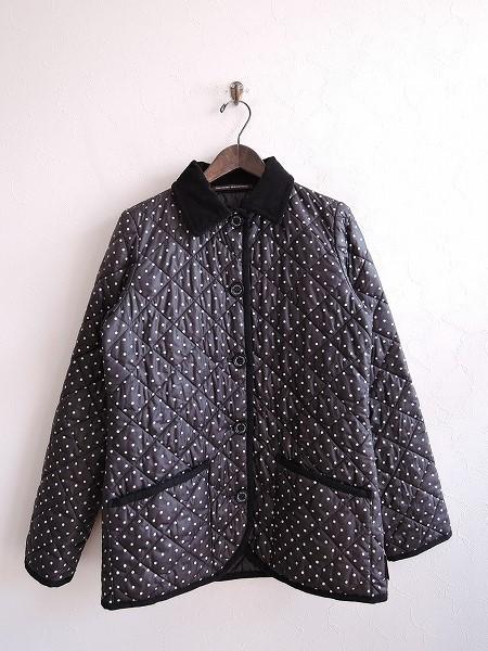 トラディショナルウェザーウェア Traditional Weatherwear WAVERLY キルティングドットジャケット 36【中古】【82B91】【高価買取中】【店頭受取対応商品】