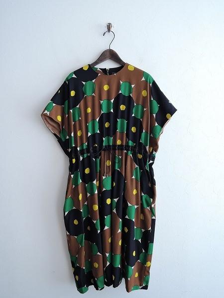ミナペルホネン mina perhonen forest ringドレス 38【中古】【01B91】【高価買取中】【店頭受取対応商品】