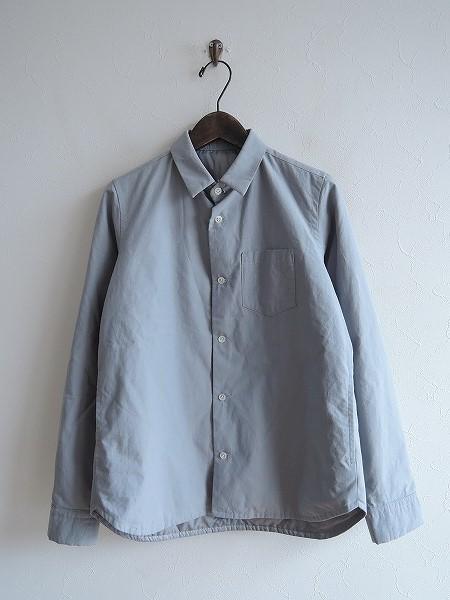【美品】 ゴーシュ コットンリネンダンプダウンシャツ 2【中古】【90B91】【高価買取中】【店頭受取対応商品】