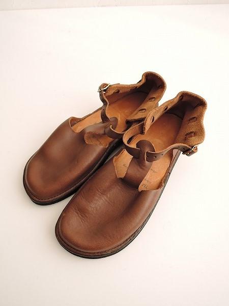 オーロラシューズ AURORA SHOES West Indian Tストラップ靴 7 1/2 C【中古】【31B91】【高価買取中】【店頭受取対応商品】