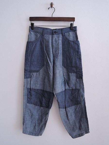 ワイズ Y's リネン混切替パンツ 2【中古】【42C91】【高価買取中】【店頭受取対応商品】