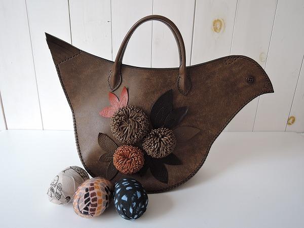 ●ミナペルホネン mina perhonen tori bag とりバッグ【中古】【52C91】【高価買取中】【店頭受取対応商品】