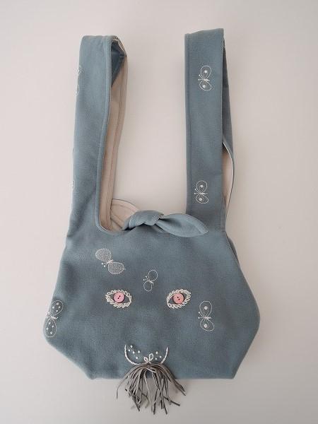 ミナペルホネン mina perhonen usa bag choucho うさバッグ小【中古】【22C91】【高価買取中】【店頭受取対応商品】