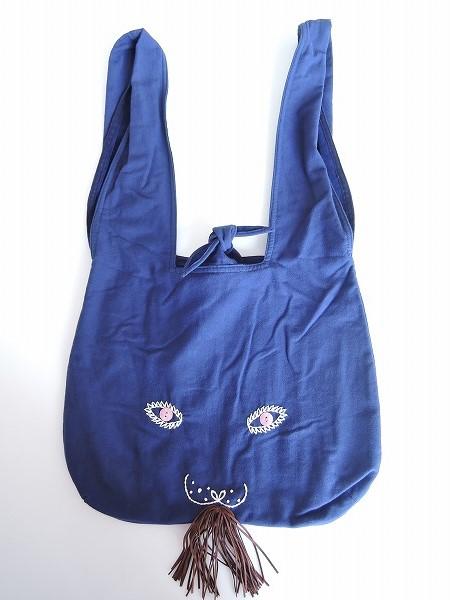 ミナペルホネン mina perhonen usa bag うさバッグ大【中古】【92C91】【高価買取中】【店頭受取対応商品】