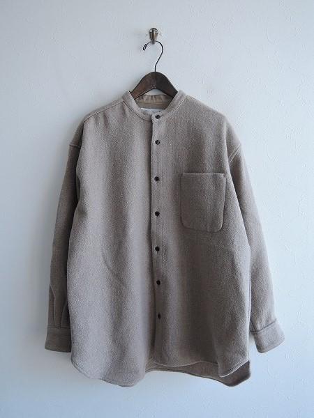 オールドマンズテーラー R&D.M.Co- ウールツイードオーバーサイズシャツ S【中古】【31C91】【高価買取中】【店頭受取対応商品】