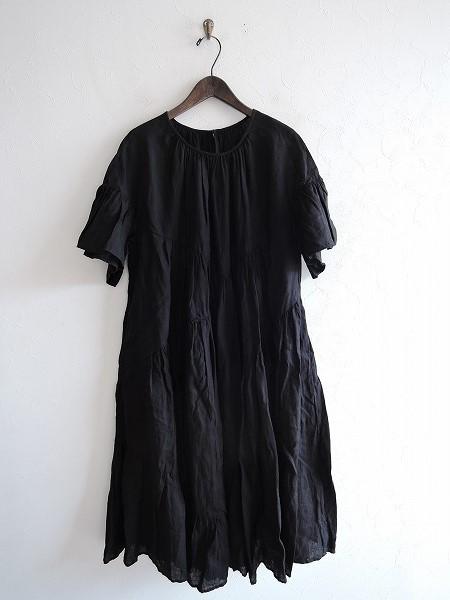 2018/S/ ネストローブ nest Robe リネンブロッキングドレス F【中古】【70D91】【高価買取中】【店頭受取対応商品】