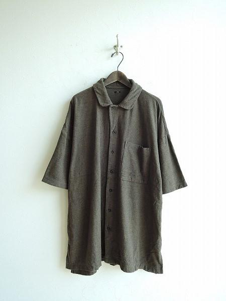 【2019SS】 ユニバーサルティシュ UNIVERSAL TISSU コットンパイルシャツ 3【中古】【10G91】【高価買取中】【店頭受取対応商品】