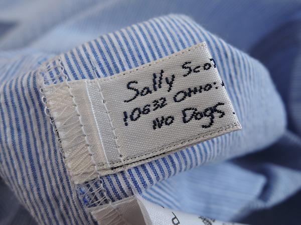 サリースコット Sally Scott ピーターパンカラーシャツドレス 9AR 30G91高価買取中cqS3RAL45j