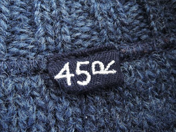 45アールピーエム R45RPM ウールニットセーター 1 72G91高価買取中店頭受取対応商品QdBoECerxW