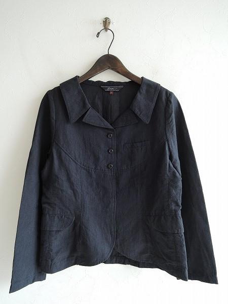 リゼッタ Lisette ゼニア リネンコットンシャツジャケット 36【中古】【72H91】【高価買取中】【店頭受取対応商品】