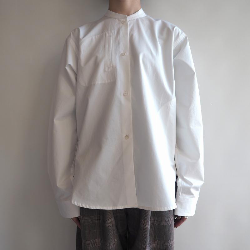【新品】 ソフィードール SOFIE D'HOORE BANTU スタンドカラーシャツ 36【中古】【12H91】【高価買取中】【店頭受取対応商品】