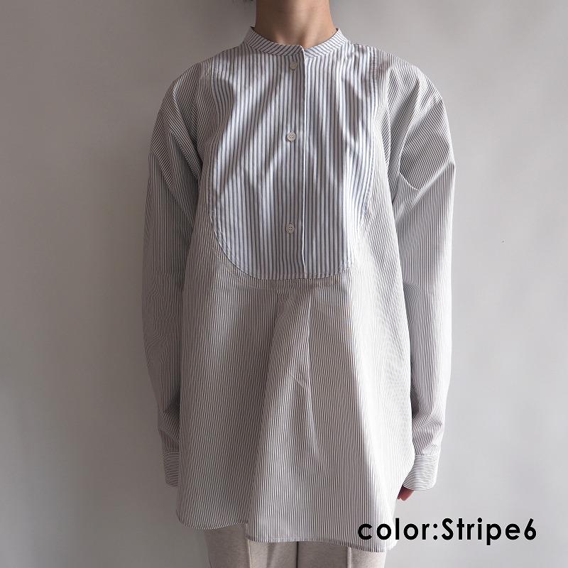 【新品】 ソフィードール SOFIE D'HOORE BOHEME ストライプロングシャツ 36【中古】【12H91】【高価買取中】
