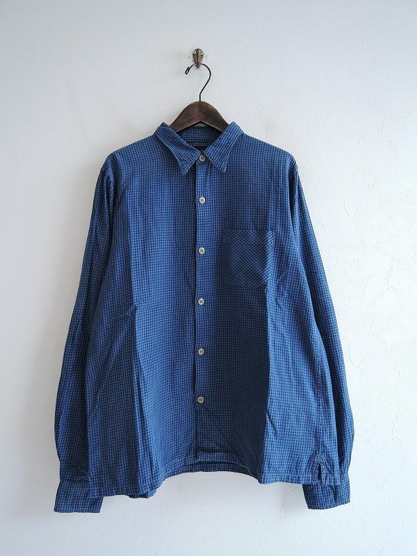【徳島】 チマラ chimala ギンガムチェックシャツ S【中古】【61J91】【高価買取中】【店頭受取対応商品】