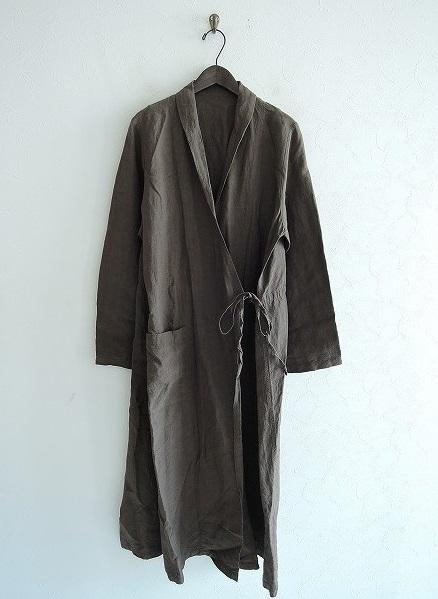 ネストローブ nest Robe リネンスモーキングコート F【中古】【41I91】【高価買取中】【店頭受取対応商品】