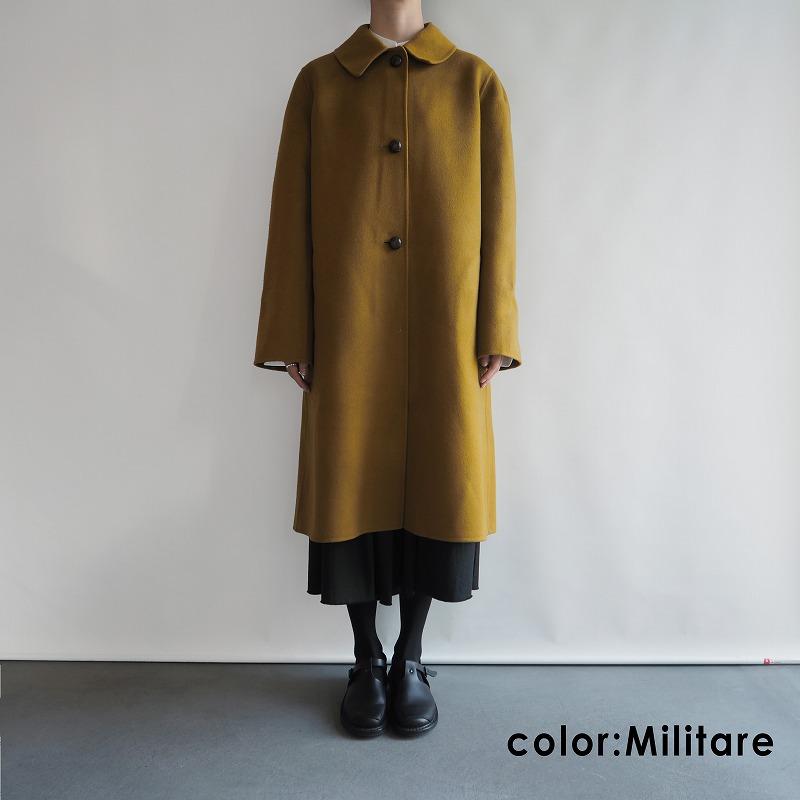 【新品】 ソフィードール SOFIE D'HOORE CHAPLIN ウールステンカラーコート 36【中古】【10L91】【高価買取中】【店頭受取対応商品】