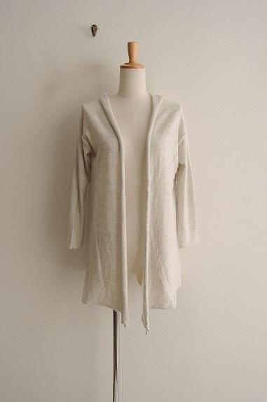 ヴェリテクール Veritecoeur Wool Twill Weave Long Cardigan ウールツイルロングカーディガン F【中古】【90A02】【高価買取中】【店頭受取対応商品】