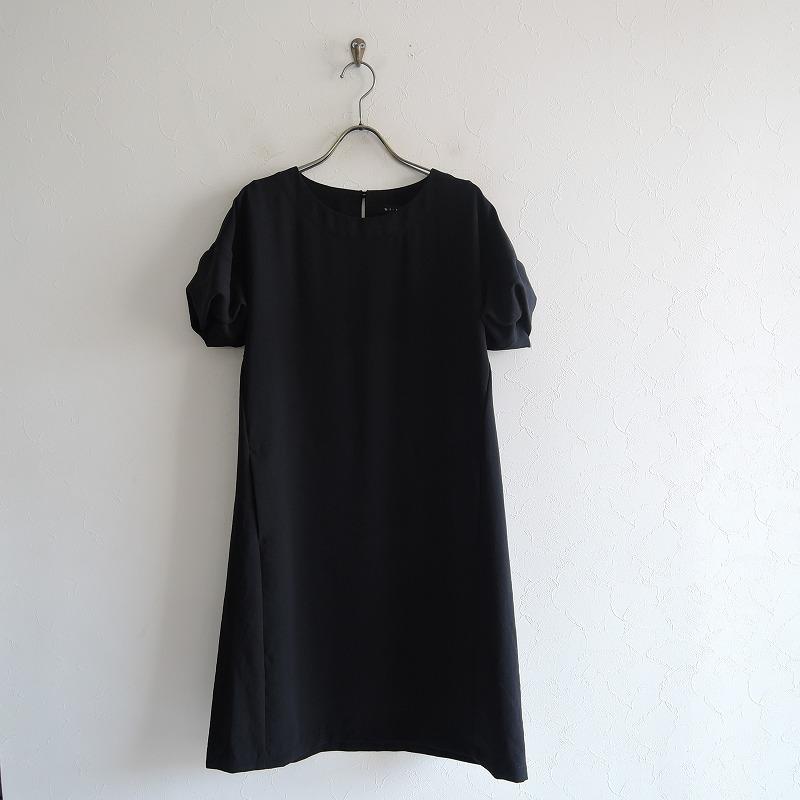 スーヒライ SI-HIRAI パフスリーブサックドレス 38【中古】【51A02】【高価買取中】【店頭受取対応商品】