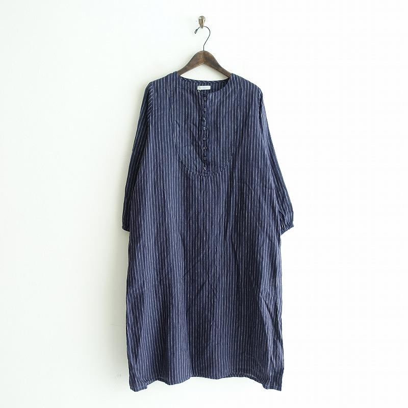 【新品】 フォグリネンワーク fog linen work gina dress ジーナ ワンピース -【中古】【02B02】【高価買取中】