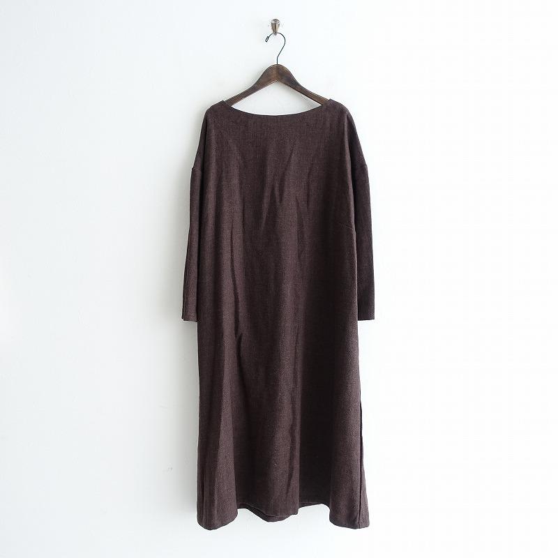 【新品】 フォグリネンワーク fog linen work mireille dress ミレーユ ワンピース -【中古】【02B02】【高価買取中】【店頭受取対応商品】