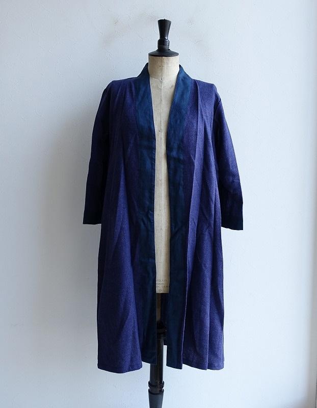 【新品】 フォグリネンワーク fog linen work claire kimono coat クレール コート -【中古】【32B02】【高価買取中】【店頭受取対応商品】