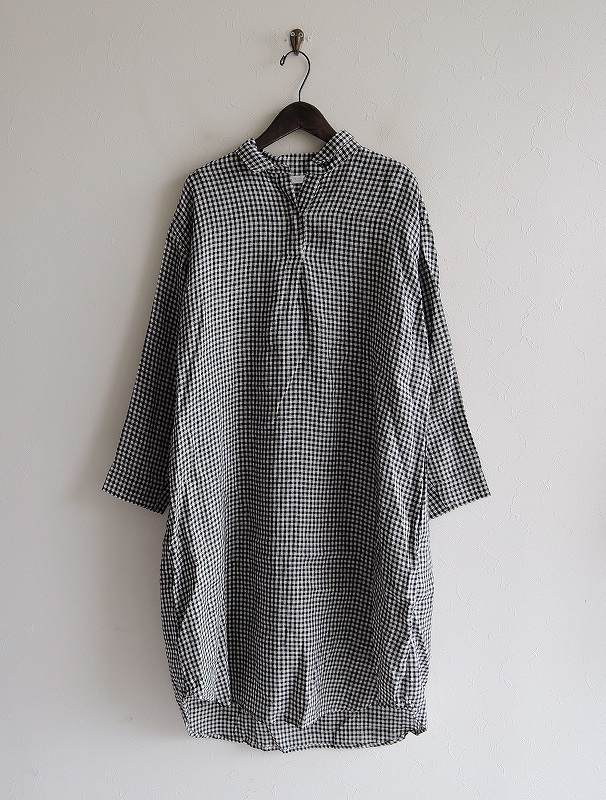 【新品】 フォグリネンワーク fog linen work LUCIA LONG SHIRT ルチア ロングシャツ -【中古】【52B02】【高価買取中】【店頭受取対応商品】