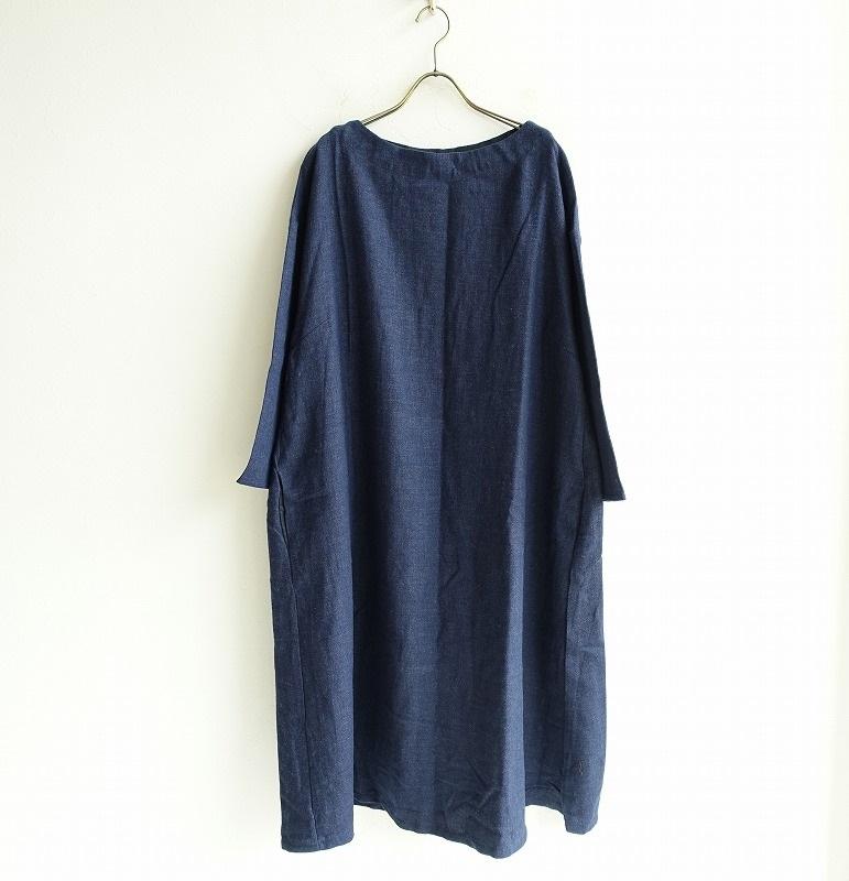 【新品】 フォグリネンワーク fog linen work mireille dress ミレーユ ワンピース -【中古】【62B02】【高価買取中】【店頭受取対応商品】