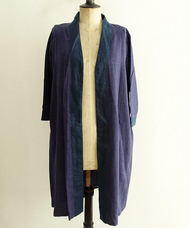 【新品】 フォグリネンワーク fog linen work claire kimono coat クレール コート -【中古】【62B02】【高価買取中】
