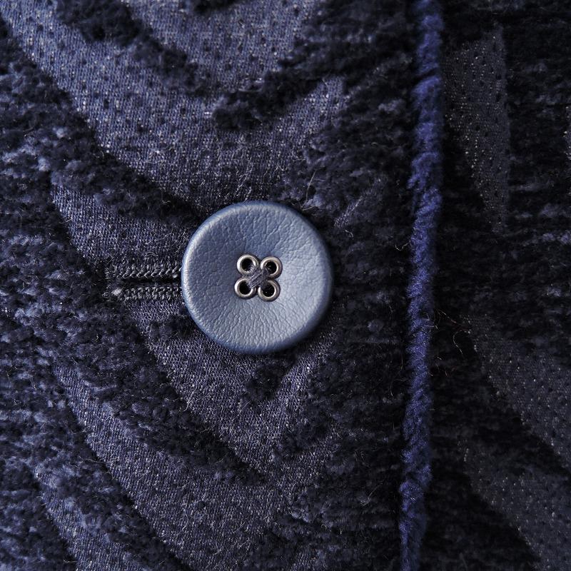 美品 2019 20AW ミナペルホネン mina perhonen salo ノーカラーコート 38 02C02高価買取中bfg67yY