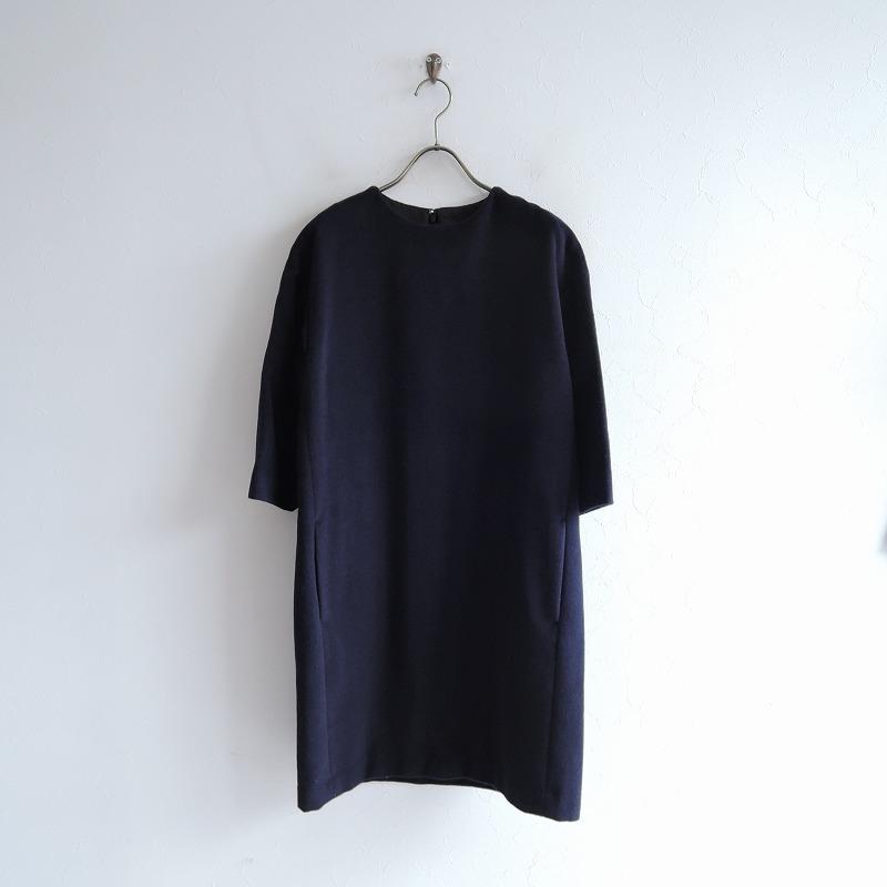 ノット KNOTT アンゴラウールボックスドレス 1【中古】【71C02】【高価買取中】【店頭受取対応商品】