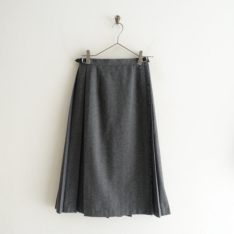 オニールオブダブリン O'NEIL OF DUBLIN プリーツロングキルトスカート 36【中古】【81C02】【高価買取中】【店頭受取対応商品】
