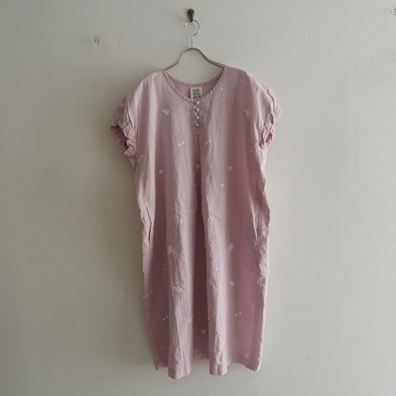 ミナペルホネンランドリー mina perhonen laundry pebble ドレス 38【中古】【80E02】【高価買取中】【店頭受取対応商品】