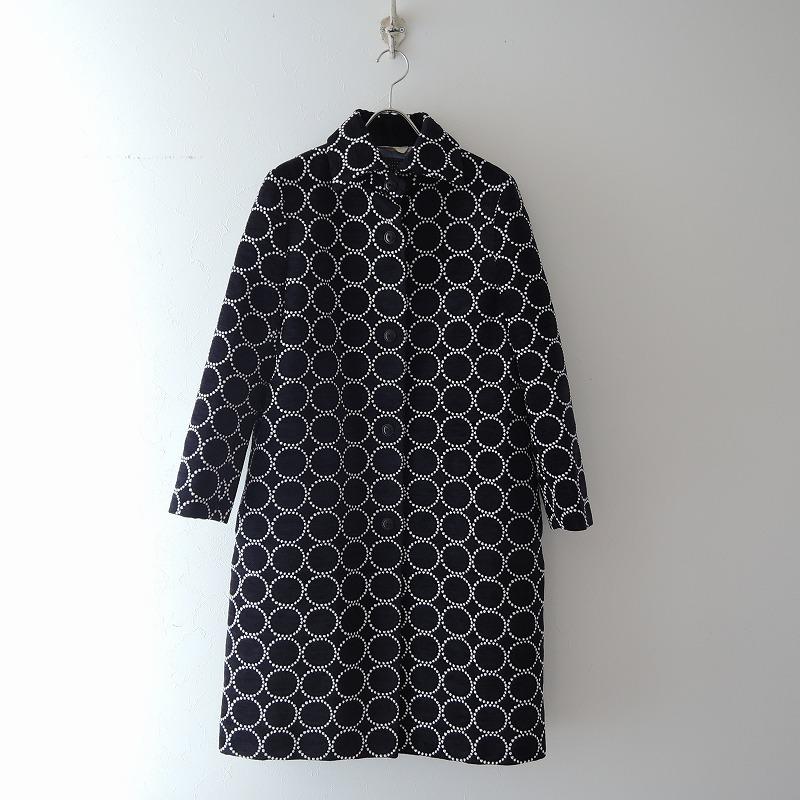 ミナペルホネン mina perhonen tambourine 刺繍コート 38【中古】【41D02】【高価買取中】