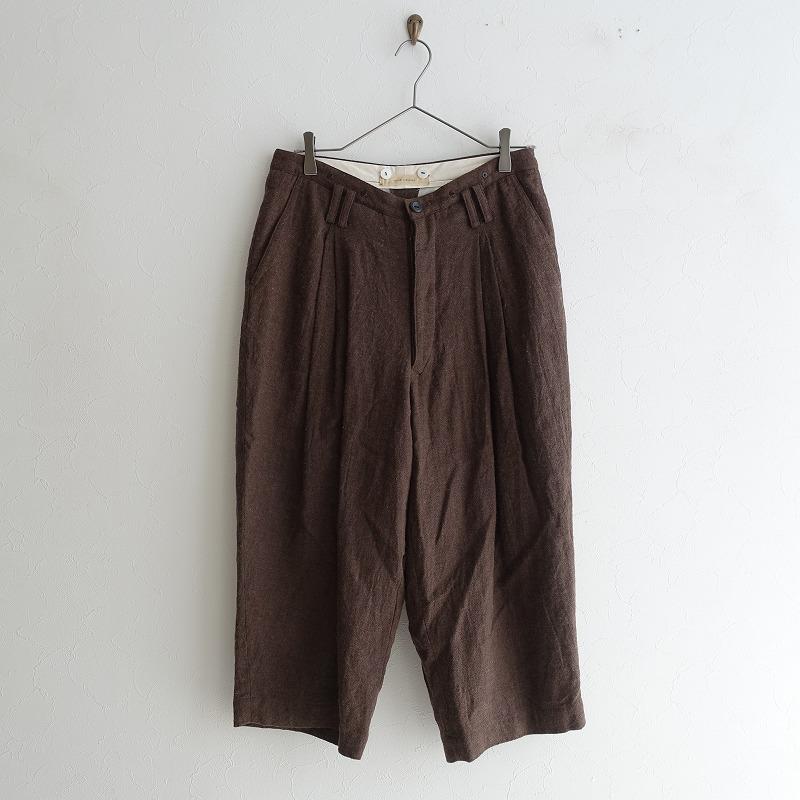スズキタカユキ suzuki takayuki wide-legged pants ワイドレッグパンツ 0【中古】【21E02】【高価買取中】【店頭受取対応商品】