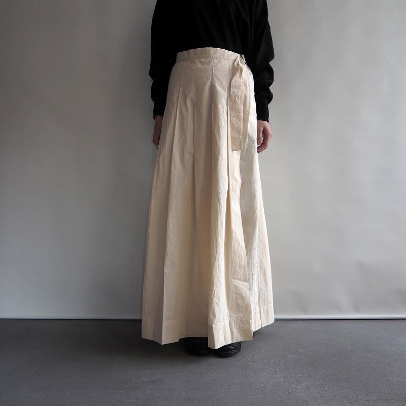 【新品】 カディー&コー Khadi and Co TIBET LIGHT CANVAS SKIRT キャンバススカート M【中古】【高価買取中】