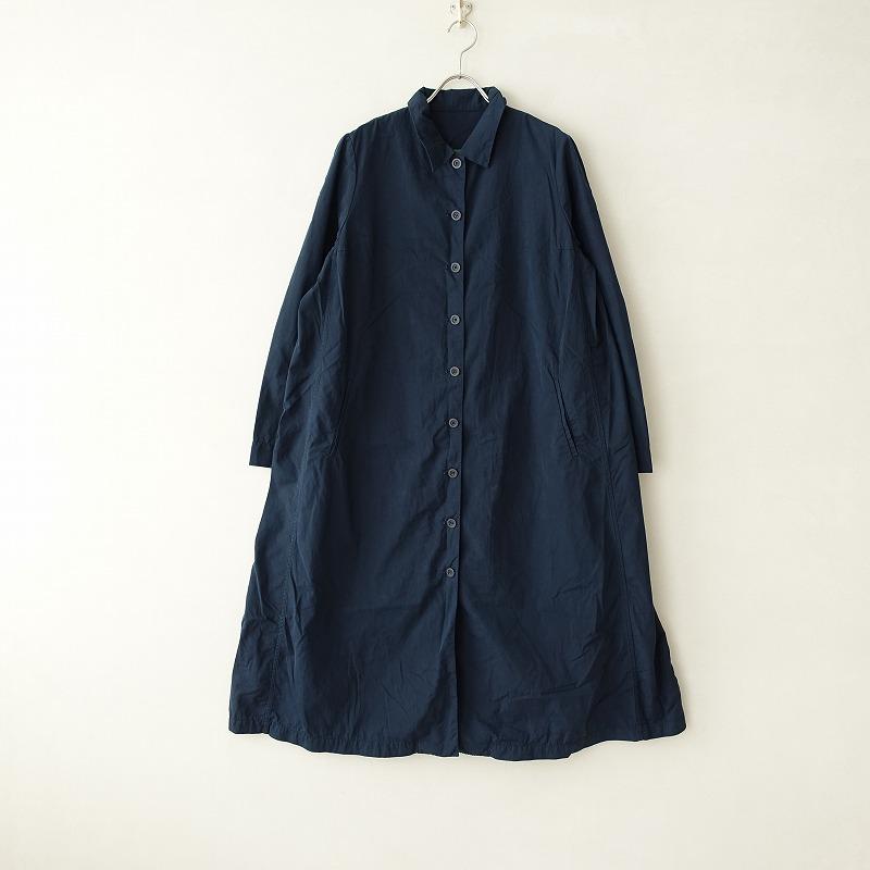 ケーシーケーシー CASEY CASEY コットンシャツワンピースコート L【中古】【10G02】【高価買取中】